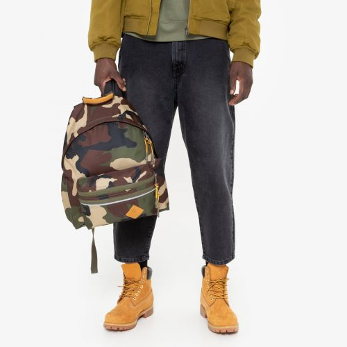 Padded Zippl'R + Timberland Camo Backpacks by Eastpak - view 1