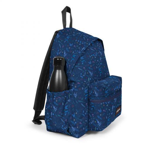 Padded Zippl'R + Herbs Navy Backpacks by Eastpak