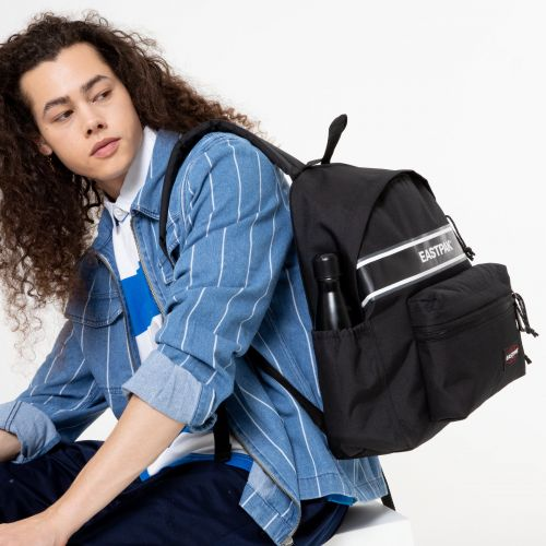 Padded Zippl'R + Black Snap Backpacks by Eastpak