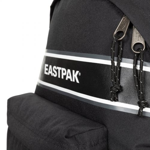 Padded Zippl'R + Black Snap Backpacks by Eastpak