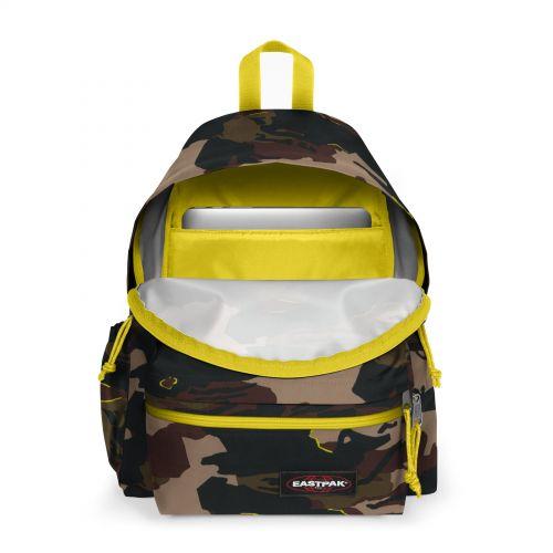 Padded Zippl'R + Outline Yellow Backpacks by Eastpak