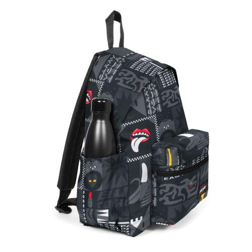 Padded Zippl'R + Wall Art Black Backpacks by Eastpak