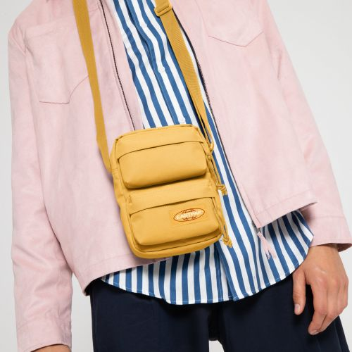 The One Doubled Sunset Yellow Default Category by Eastpak