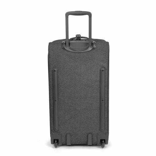 Double Tranverz M Black Denim Luggage by Eastpak
