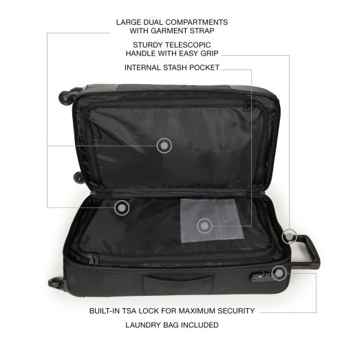 Ridell L Cnnct Coat Luggage by Eastpak