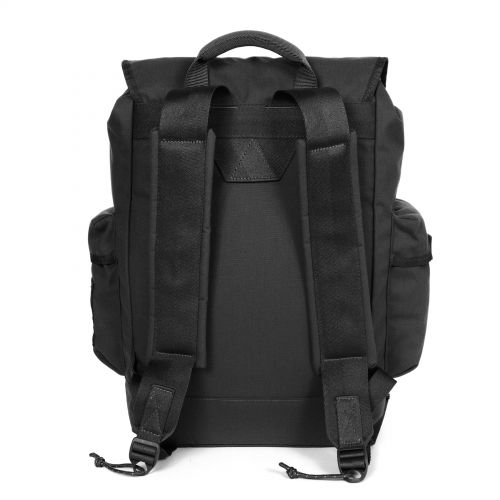 Obsten Roothed Black Backpacks by Eastpak