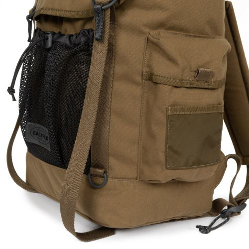 Obsten Roothed Khaki Backpacks by Eastpak