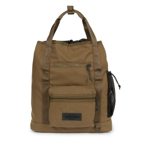 Mynder Roothed Khaki Backpacks by Eastpak - view 1