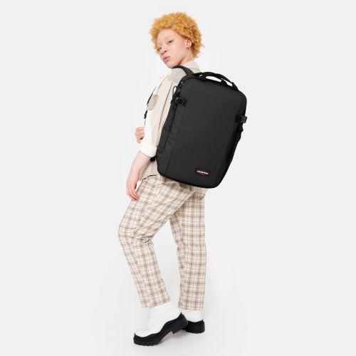 Morepack Black Luggage by Eastpak