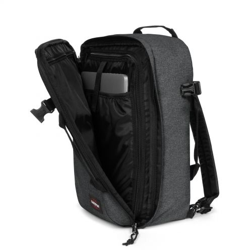 Morepack Black Denim Luggage by Eastpak