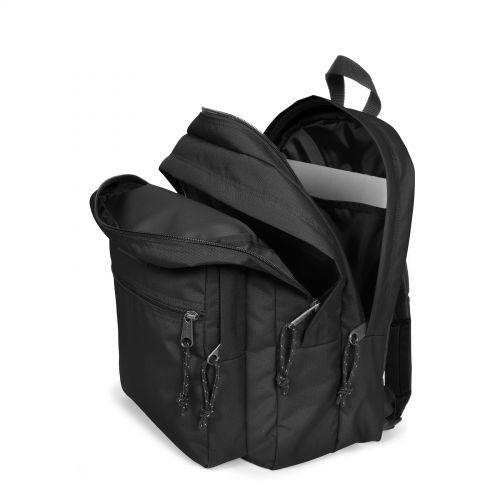 Morius Light Black Backpacks by Eastpak