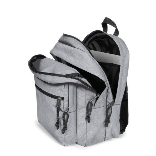 Morius Light Sunday Grey Backpacks by Eastpak