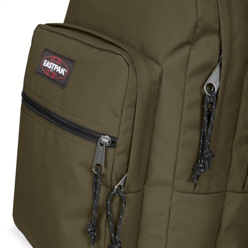 Morius Light Army Olive Backpacks by Eastpak