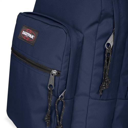 Morius Light Wave Navy Backpacks by Eastpak