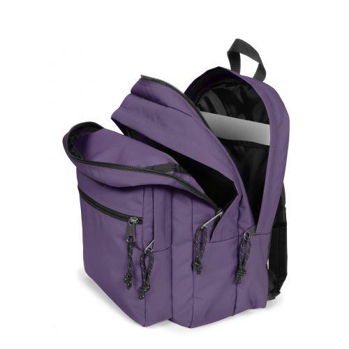 Morius Light Grape Purple Backpacks by Eastpak
