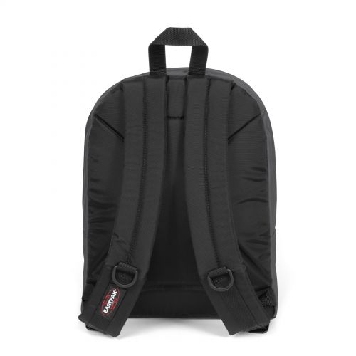 Morius Light Iron Grey Backpacks by Eastpak