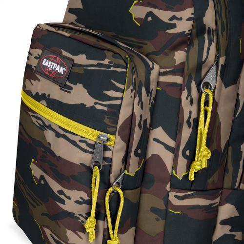 Morius Light Outline Yellow Backpacks by Eastpak