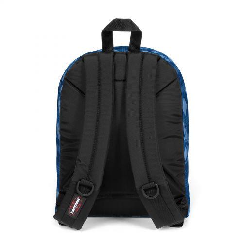 Morius Light Pixel Blue Backpacks by Eastpak