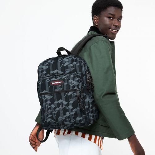 Morius Light Pixel Black Backpacks by Eastpak
