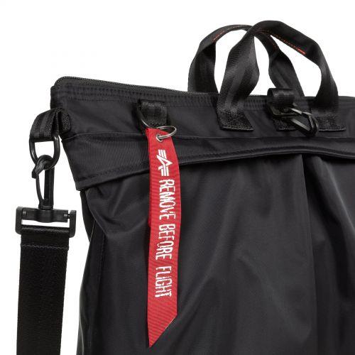 Helmet Bag Alpha Dark Backpacks by Eastpak