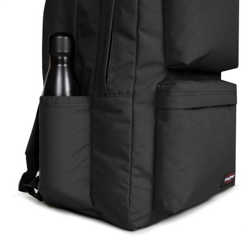 Parton Black Backpacks by Eastpak