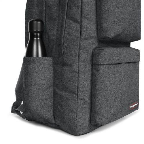 Parton Black Denim Backpacks by Eastpak