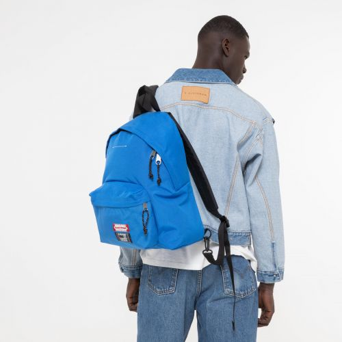 Padded MM6 Blue Backpacks by Eastpak - view 1