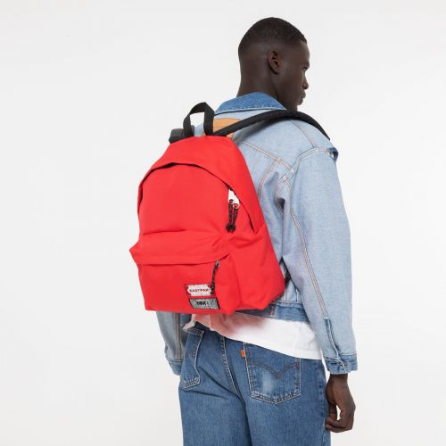 Padded MM6 Red Backpacks by Eastpak - view 1