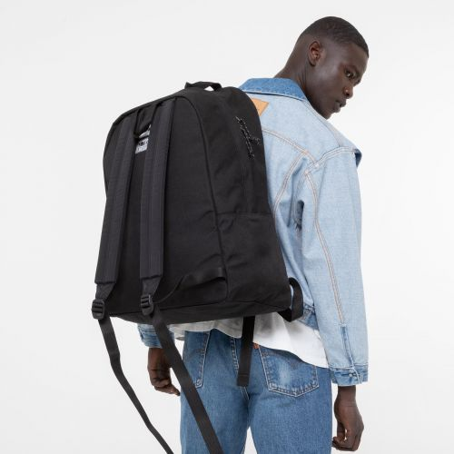 Padded XL MM6 Black Backpacks by Eastpak - view 1