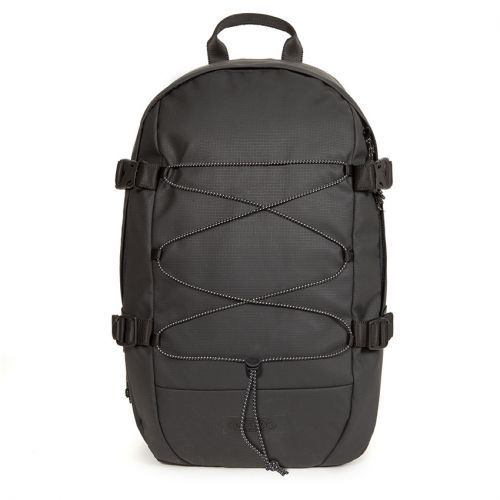 Borys Surfaced Black Backpacks by Eastpak - view 0