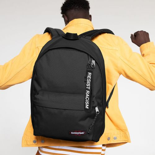 Out Of Office Resist Racism Backpacks by Eastpak