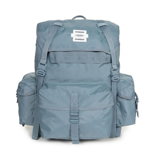 Samsøe Samsøe E Big Backpack Blue Backpacks by Eastpak
