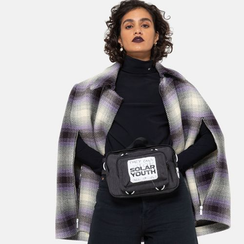 Raf Simons Waistbag Loop Small Check