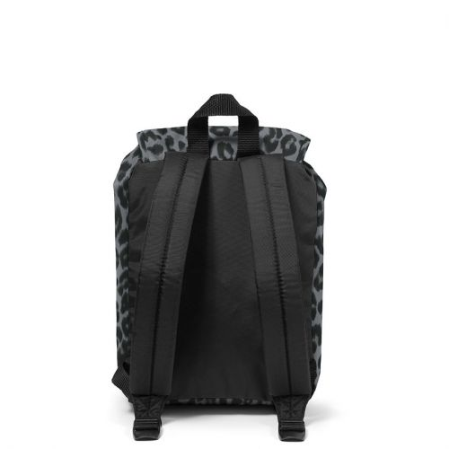 Casyl Grey Leopard Backpacks by Eastpak