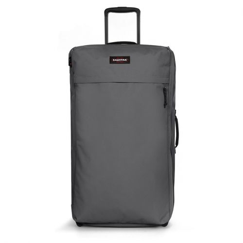 Traf'Ik Light L Woven Grey Large Suitcases by Eastpak