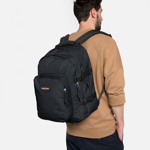 Provider Midnight Backpacks by Eastpak - Front view
