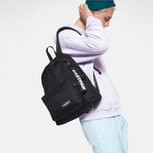 Padded Puller Black Lookbook by Eastpak