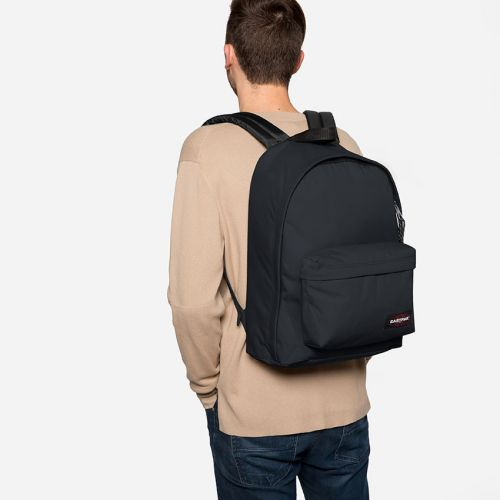 Out Of Office Midnight Backpacks by Eastpak - Front view