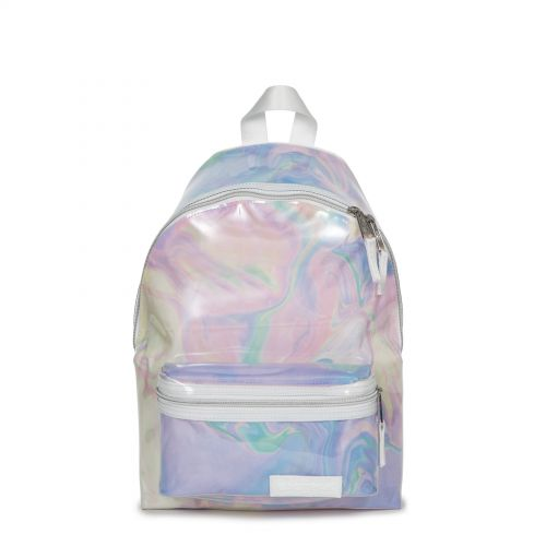 Orbit XS Marble Transparent Backpacks by Eastpak - Front view