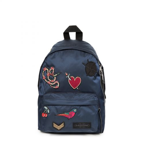 Orbit XS Bellish Blue Backpacks by Eastpak - Front view