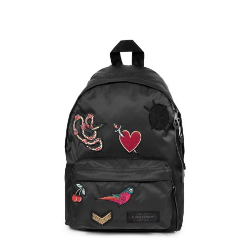 Orbit XS Bellish Black Backpacks by Eastpak - Front view