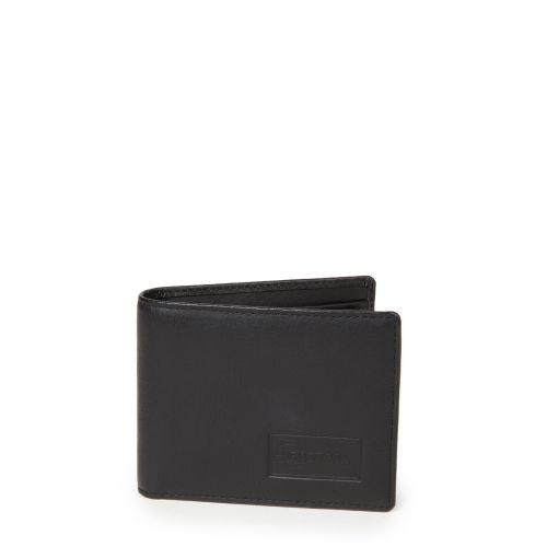 Drew RFID Black Ink Leather