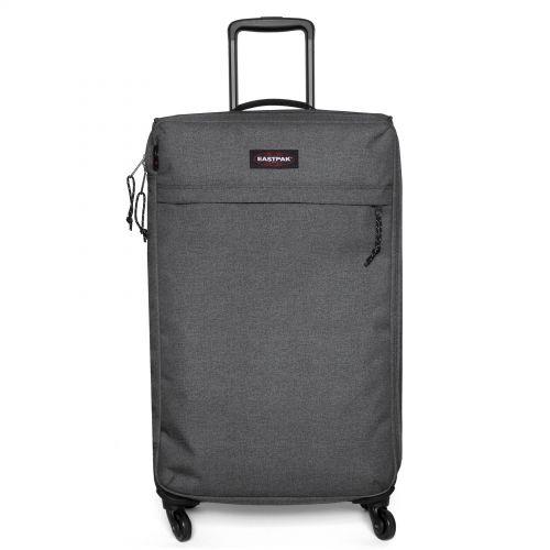 Traf'ik 4 L Black Denim Large Suitcases by Eastpak - view 1