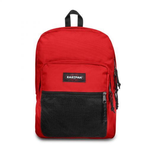Pinnacle Teasing Red Backpacks by Eastpak - Front view