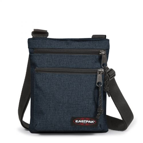 Rusher Triple Denim  by Eastpak - Front view