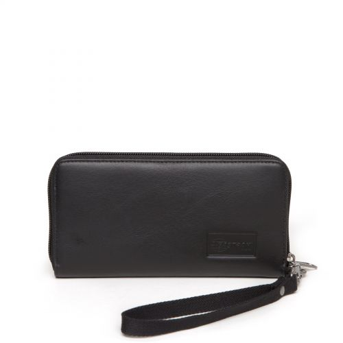Kai Black Ink Leather Accessories by Eastpak - Front view