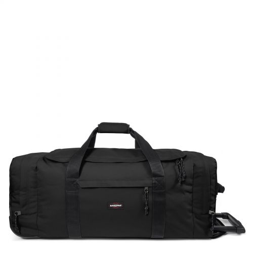 Leatherface L Black Luggage by Eastpak - Front view