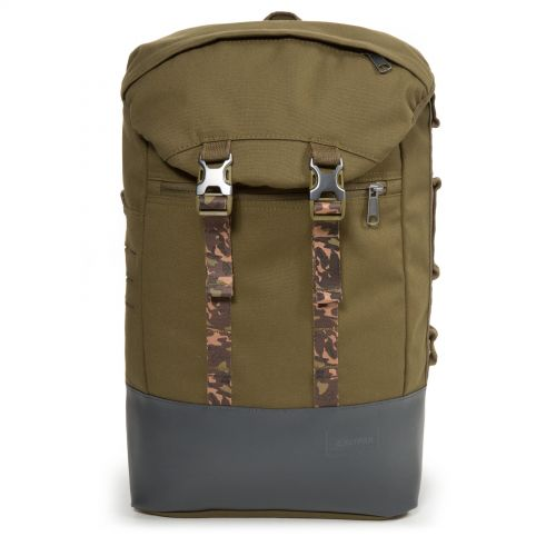Bust Mt Khaki Backpacks by Eastpak - Front view
