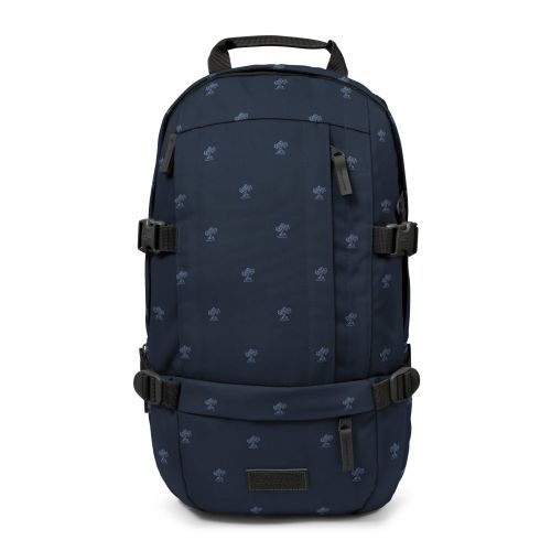 Floid Palm Tree Navy Backpacks by Eastpak - Front view