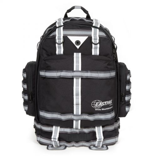 White Mountaineering Killington Black Backpacks by Eastpak - Front view